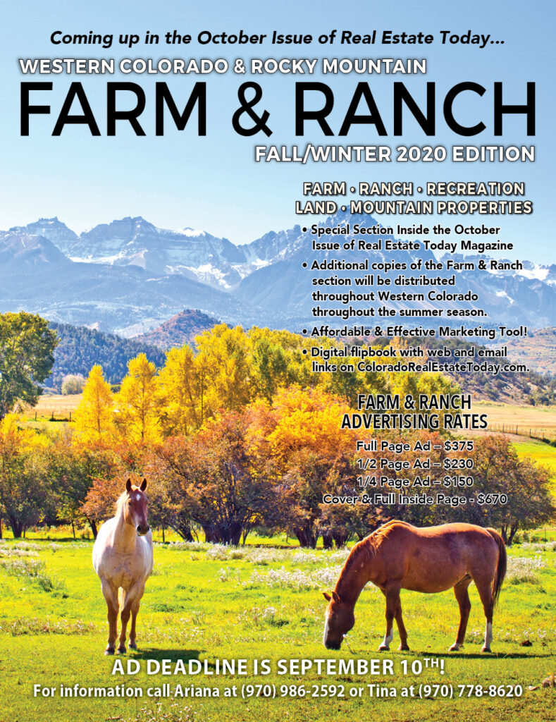 Don't miss the Fall/Winter Farm & Ranch issue!
